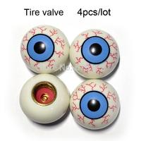 Eye Tire Valve Stem Cap Car Auto Pressure Monitor Valve Stem Caps 4Pcs/lot Free Shipping