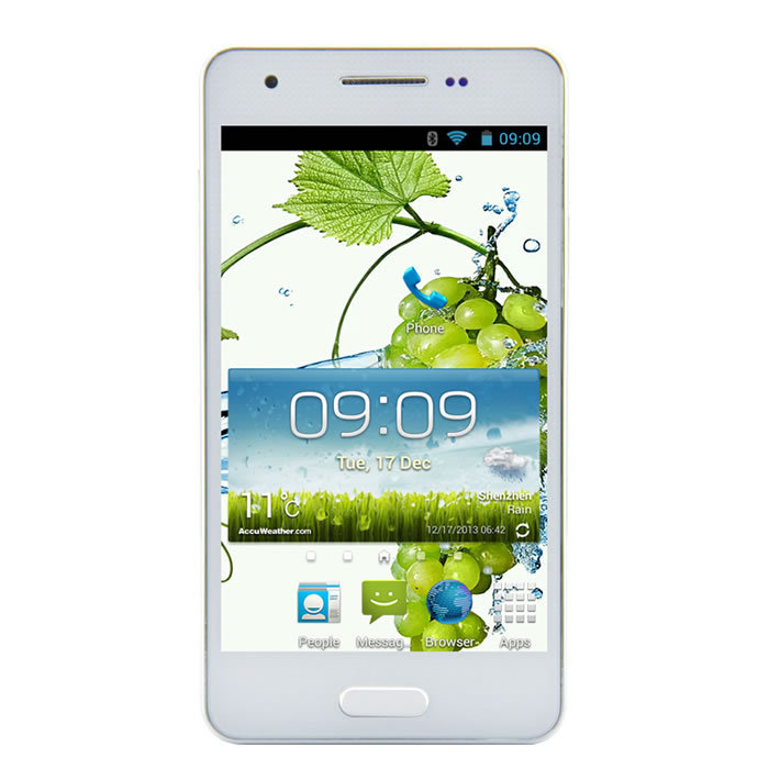 F9006 mini MTK6582 Quad Core 1.3GHz Android 4.2 4.3 inch Touch Screen RAM 1GB ROM 4GB GPS Android phone White(China (Mainland))