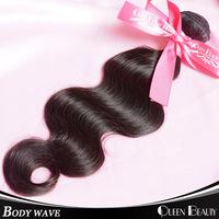 1 Bundle brizilian virgin hair human hair extensions 8-30 inch 100grams/piece 100% brizilian body wavy hair,natural black hair