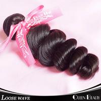 1PCS virgin brazilian wavy hair 6A grade new brazilian loose wave cheap human hair 100g bundles , DHL 2 day fast shipping