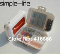 Free shipping: medicine box Portable tablets a week box Japanese small kit travel pill box