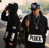 sweatshirt pullover hoodie lovers 2014 winter/autumn Ktz pyrex fukk Hip Hop HipHop mens women sport outerwear plus 3XL/4XL/5XL