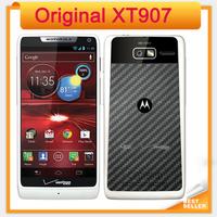 Original XT907 Motorola Mobile Phone Android 4.0 Dual Core 1GB+ 8GB ROM Camera 8MP WIFI GPS Unlocked XT907 Cellphone Black/White