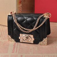Children's Handbags Girls Sling bags Messenger bag casual fashion princess cute child Cosmetic metal chain handbags
