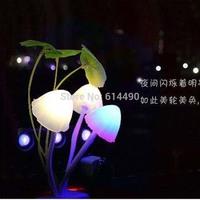 US Plug Avatar Round Head Plug Electric Induction Dream Mushroom Fungus Lamp,LED Table Lamp, Mushroom Lamp,Energy Saving Light