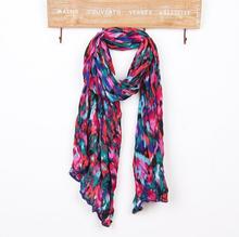 wholesale printed silk scarf