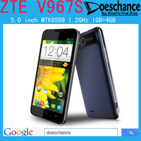 Original ZTE V967S MTK6589 Quad core 5.0 inch IPS Screen 5.0MP Camera 3G Android 4.2 Smartphone