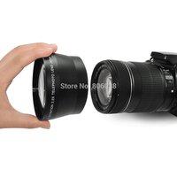 67mm 2.2X High Definition Digital Telephoto Lens for Canon Nikon OLYMPUS Pentax Sony Free Shipping