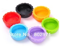 Free Shipping!Creative Silicone Bottle Caps Top Wine Beer Caps Saver/Beer Bottle Lids Silica Gel Cover Caps Wholesale 240pcs/lot