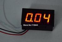 15pcs/Lot Wholesale HIgh Quality DC 0V To 100V Red LED Panel Meter Voltage Meter Mini Digital Voltmeter TK1214