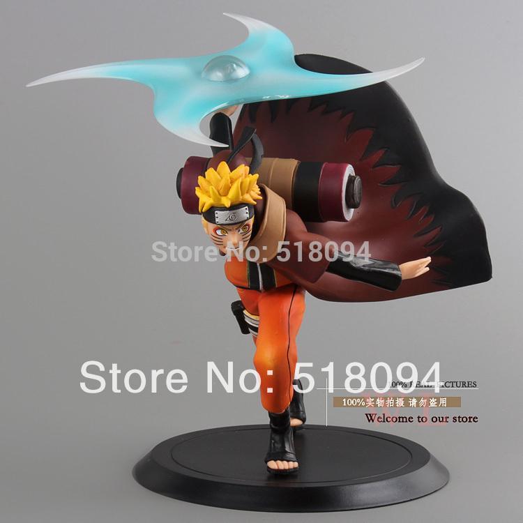 Free Shipping Anime Naruto Uzumaki Naruto PVC Action Figure Collection Model Toy 16cm NTFG041(China (Mainland))