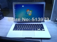 "13.3"" laptop netbook wholesale intel celeron 1037u dual-core 1.8ghz/2gb/64gb SSD (upto 4g/128gb)  Aluminum alloy Shell"