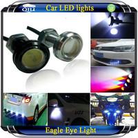 Free Shipping Car 10W 5000K t10 h4 led Waterproof Eagle Eye LED Daytime Running/Brake Lamps / Lights (DC 12V)
