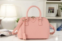 NEW fashion PU leather candy-colored trumpet shell portable shoulder Messenger bag handbags  yd48