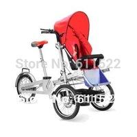 taga stroller 16inch folding multifunction mother  baby bike al-alloy frame mother stroller bike  pushing triwheel bike