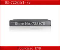 DS-7208HVI-SV,Hikvision 8 Channel DVR,WD1Resolution,1SATA Up to 4TB,VGA Output 1920*1080P,Dual-stream,Economic 8CH DVR