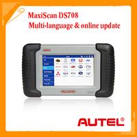 2014 Original Autel MaxiDAS DS708 Automotive Diagnostic System DS 708 Free online update + Multi-Language + Free Shipping