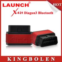 2015 100% Original Launch X431 Diagun III Blutooth Update Via Launch Website DHL Free Shipping