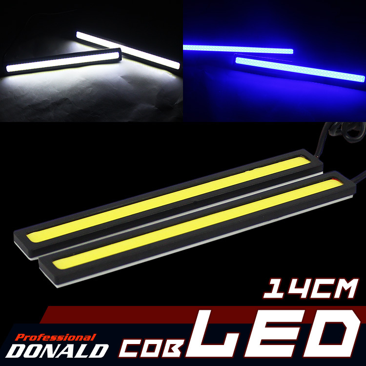 Limited Sale!! Special Products! Zero profits! Super Bright Waterproof 12V White Car LED Lights COB DRL Fog Driving Lamp 480 Lum(China (Mainland))