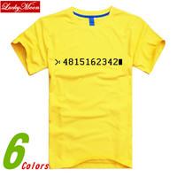 2014 New style Sitcoms O-neck Short-sleeve T-shirt Man Cotton Multi-color Fashion Loose Plus Size Men T-shirts Cloth