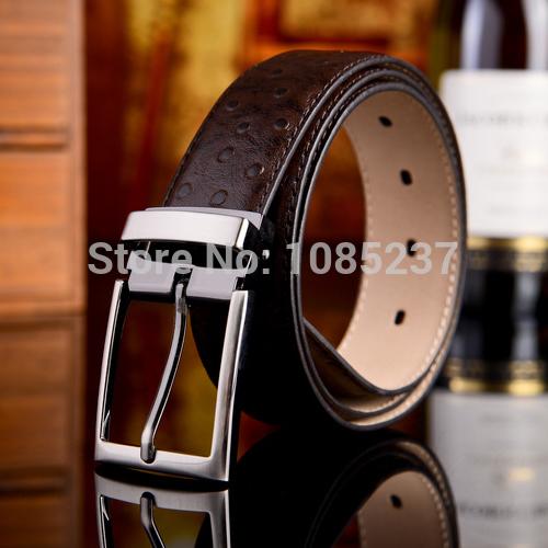 Мужской ремень Genuine leather belt мужской ремень cinto couro marca