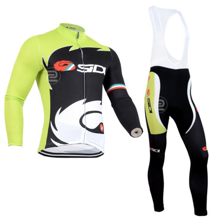 Super chaud!!! 2014 hiver, d'Équipe thermique à manches longues vêtements de sport maillots de vélo pas cher ensemble. cyclisme, roche. vêtements. vtt vélo de route