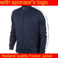 france jacket  soccer jackets men football jacket winter jacket for men Football Coat Outdoor