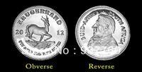 1 Gram 2012 Krugerrand Silver Coin