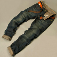 [CPS] Free Shipping 2013 men's fashion jeans men big sale autumn clothes new fashion brand Men's pants