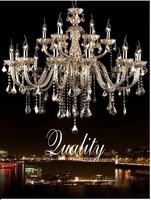 12 Light Luxury Large Crystal Chandelier  fashion Large Chandelier lights living room lights lighting