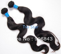 Retail 12 - 28 Inch Malaysian Virgin Hair Loose Wave 100% Human Hair 3Pcs/Lot Natural Black Color 1B# 6A Unprocessed Virgin Hair