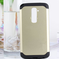 New Arrival Neo Hybird Slim Armor Case for LG Optimus G2 D801 F320 Gold Korean Style Tough Armor Cover 1pcs/lot