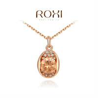 ROXI Exquisite fashion Opal necklace/Chrismas giftsAustrian crystal,fashion Environmental  double sets Jewelry2030237550