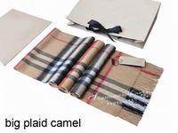 cashmere scarf Man and women's designer plaid scarf