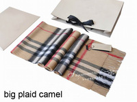cashmere scarf Man and women's designer plaid scarf