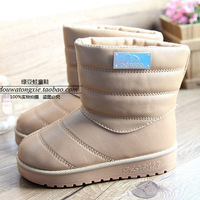 2013 winter child snow boots male female child boots cotton-padded shoes waterproof boots children boots shoes