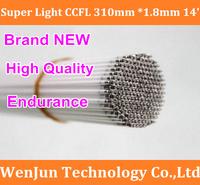 Free ship 310x1.8mm 14inch LCD screen backlight ccfl lamp ,ccfl tube light for laptop screen panel
