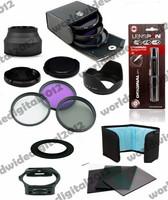 72 MM FLD CPL UV Lens Filter Set Lens hood   + Graduated Orange/Blue  Filter Set + 77mm ring Adapter  for Cokin P F8