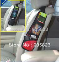 Free Shipping Car Auto Vehicle Seat Side Back Storage Pocket Backseat Hanging Storage Bags Organizer receive bag