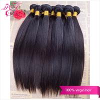 Ali POP hair Human hair weave straight 10pcs/lot Wholesale price Brazilian virgin hair straight  Cheapest human hair extensions