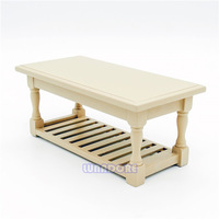 1:12 Miniature Display Living Room Table Kitchen Furniture Doll house Wooden Dollhouse Furniture Fit Orcara Toys Accessories