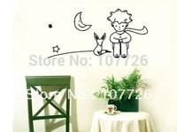 Mix Wholesale Order The Little Prince Fox Moon Star Decor Mural Art Wall Sticker Decal
