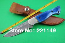 damascus hunting knife promotion