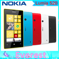 Lumia 520 Original Nokia 520 Dual Core 3G WIFI GPS 5MP Camera 8GB Storage Unlocked Windows Mobile Phone Free Shipping