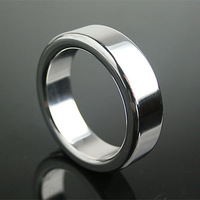 Big Penis Cock Delay Rings Metal Stainless Steel Chastity Cockring Sex Toys For Man Ball Stretching Smart Cook Ring Dildo Sock