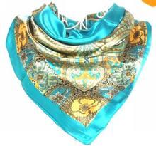 popular satin shawl
