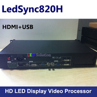 LedSync820H HD led video processor Seamless Switch Support 1920 x 1080pixels Factory Price