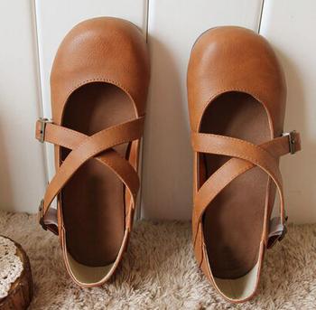"""Бесплатная доставка 2015 новый японский чисто ручной народная стиль обувь, """" ..."""