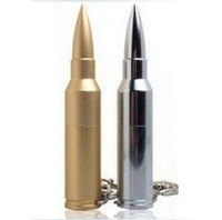 K-099 free shipping Metal bullet usb flash drive 128M 2GB 4GB 8GB 16GB 32GB  usb flash disk usb pen
