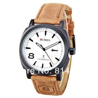 2013 New Curren 3ATM waterproof Quartz Business Men's Watches fashion military Army Vogue Wrist watch ,High quality